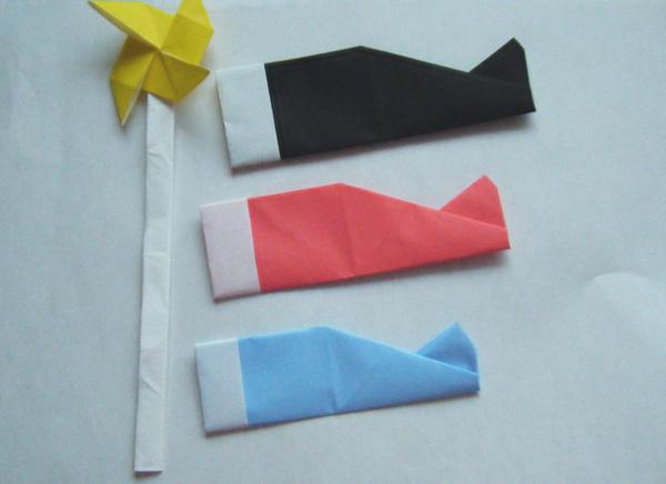 こいのぼり折り紙